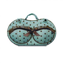 Nécessaire Feminina Porta sutiã original Tiffany Bra Bag