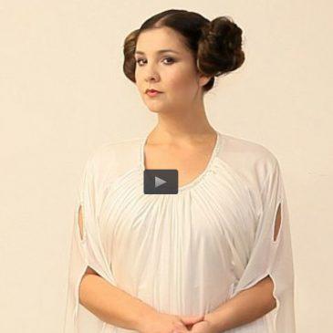 """Aprenda a fazer a maquiagem e o penteado da Princesa Leia (Carrie Fisher) de """"Star Wars"""""""