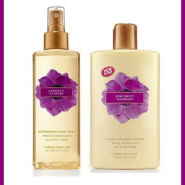 KIT Body Splash e Hidratante Coconut Passion Victoria's Secret