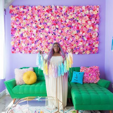 O apartamento mais colorido que você já viu!
