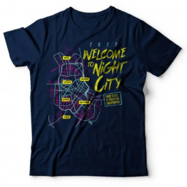 Camiseta Cyberpunk Night City