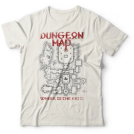 Camiseta Dungeon Map