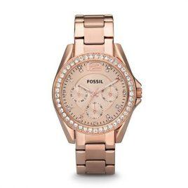Relógio Feminino Fóssil Rosé