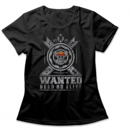 Camiseta Feminina One Piece Dead Or Alive