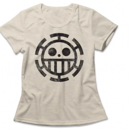 Camiseta Feminina One Piece Trafalgar Law