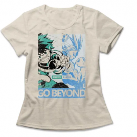 Camiseta Feminina Boku No Hero